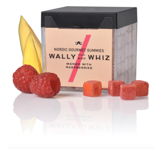 Mango med Hindbær - Wally and Whiz