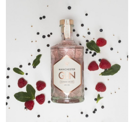 Manchester Raspberry Infused Gin