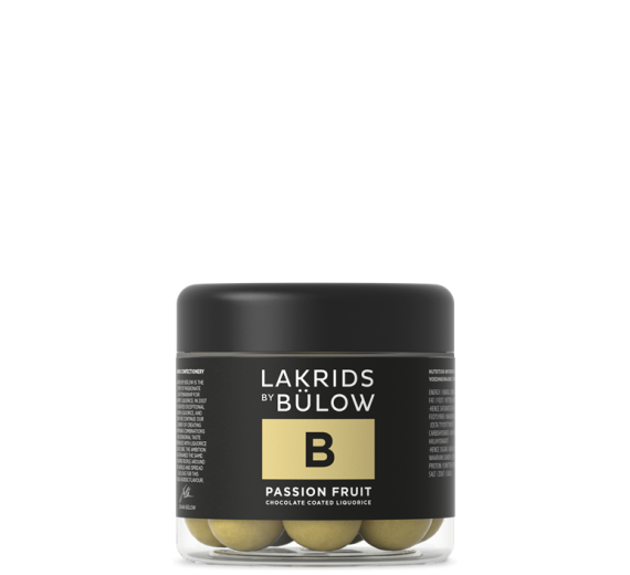 Lakrids by Bülow - B - Lakrids med Passionsfrugt-Small - 125 gram