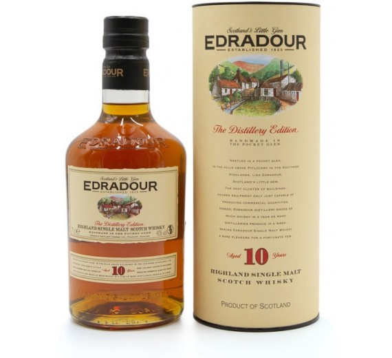 Edradour Distillery 10 Y.o Highland Single Malt