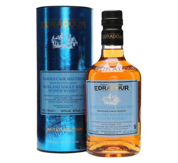 Edradour Distillery 9 Y.o Barolo Cask Single Malt