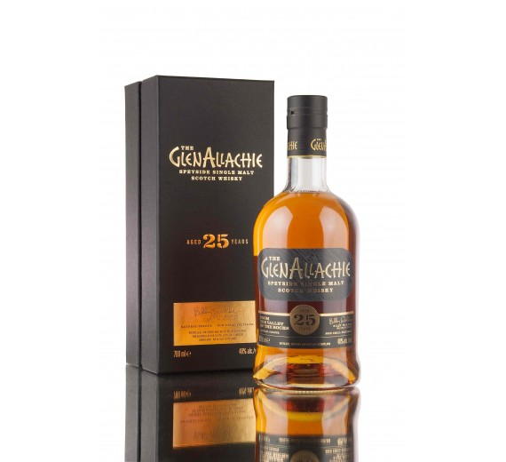 The GlenAllachie - 25 Y.o Speyside Single Malt - Bourbon & P.X-Oloroso Sherry Cask