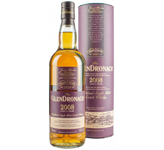 Glendronach Distillery 2008 11 Y.o Highlang Single Malt
