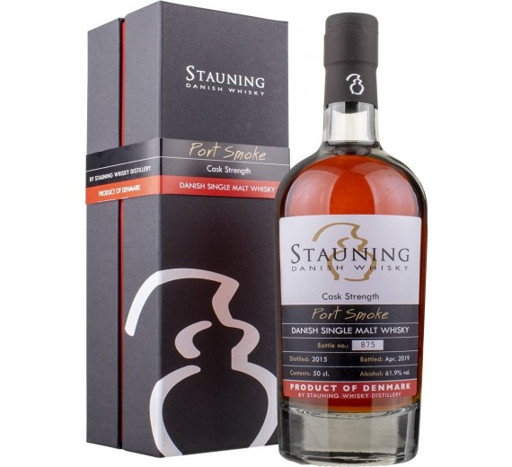 Stauning Whisky Distillery - Port Smoke Cask Strenght 61,9% vol.