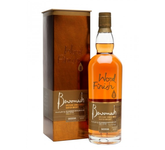 The Benromach Distillery 2007 - Sassicaia wood finish