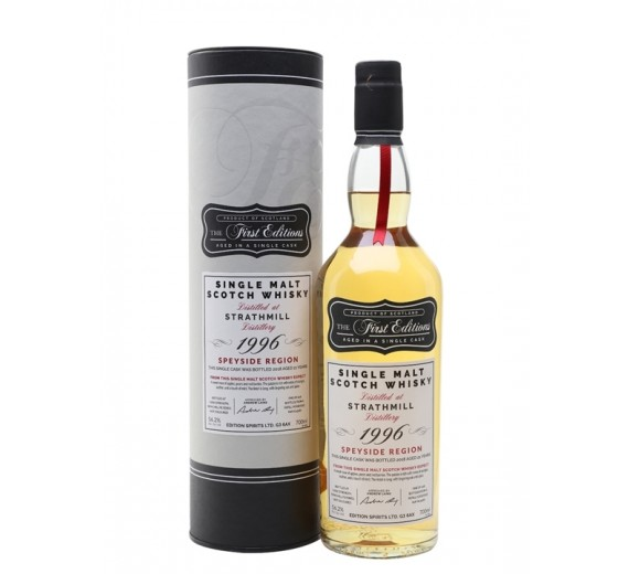 Strathmill Distillery 1996 21 Y.o The First Edition Hunter Laing Speyside Single Cask Single Malt