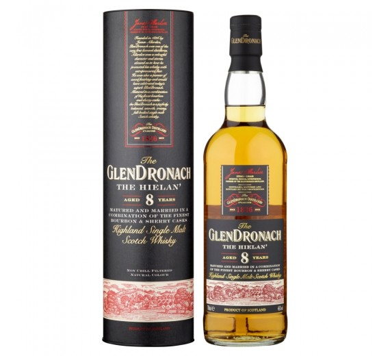 The Glendronach Distillery The Hielan 8 Y.o Highland Single Malt