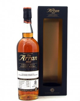 The Arran Malt 2009 Limited Edition 8 Y.o Sherry Hogshead Private Cask Danish Retailers-20